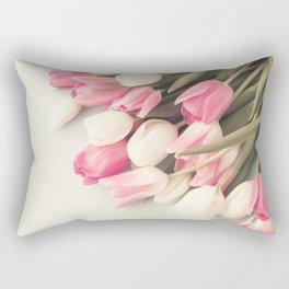 Soft tulips Rectangular Pillow
