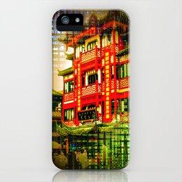 Asia World iPhone Case