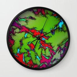 Enclosed gardens Wall Clock