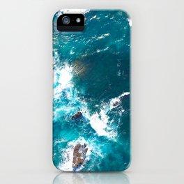 Surf Photography, Beach Wall Art Print, Ocean Water Surfing, Coastal Decor, Digital Download, Bathro iPhone Case