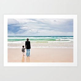 Mother Ocean Art Print
