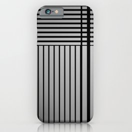 Fields of lines 2 iPhone Case