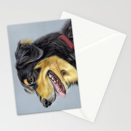 Dog Portrait 01 Stationery Cards