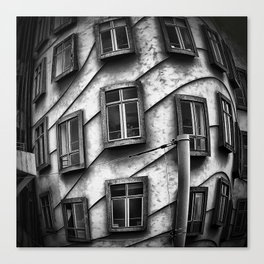 Geometrie praghesi [dancing house | Prague] Canvas Print