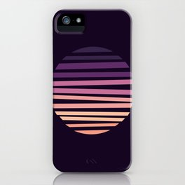 Amethyst Hour iPhone Case