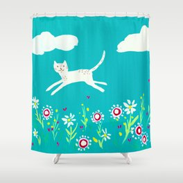 Spring Frolic Shower Curtain