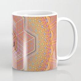 Flower of Life Tesseract Coffee Mug