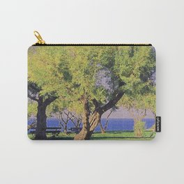 Tamarisk Trees Overlooking the Ocean Carry-All Pouch