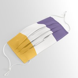 Women's Suffrage Flag Face Mask