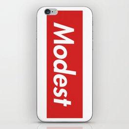 Modest (Supreme) iPhone Skin
