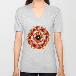 Illustrator's Mandala Unisex V-Neck
