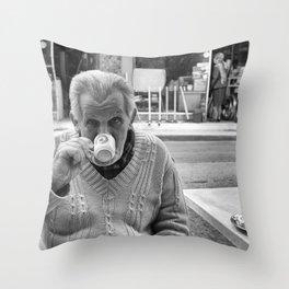 Cyprus Coffee Throw Pillow