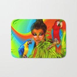 Birds of Paradise Bath Mat