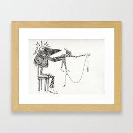 A Dark Reality  Framed Art Print