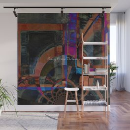 Rising From Darkness Abstract - Happiness - Inspiration Wall Mural