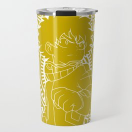 Stained Glass - My Hero Academia - Izuku Midoriya Travel Mug
