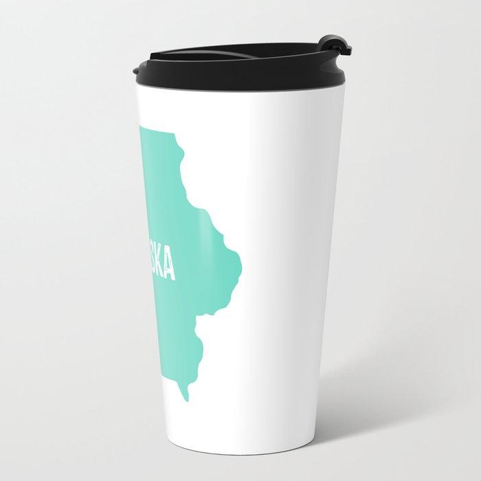 Not Nebraska  Travel Mug