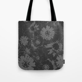 Late Summer Charcoal Tote Bag