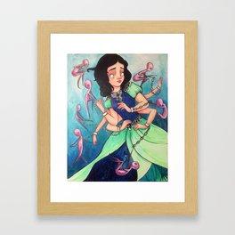 Anti Princess Duex Framed Art Print