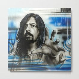 'Grohl Fighters' Metal Print