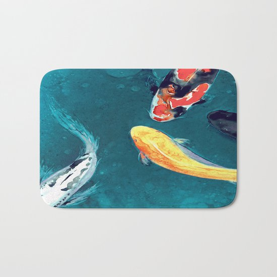 Water Ballet Bath Mat