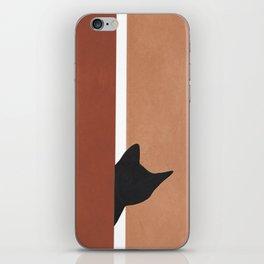 Peeking In iPhone Skin