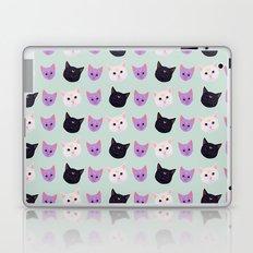 Moon Cat Trio Laptop & iPad Skin
