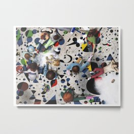 Cleaning the Miro. Metal Print
