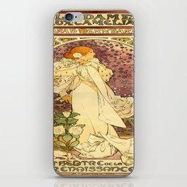 Vintage poster - La Dame Aux Camelias iPhone Skin