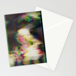 The Mirror Has Three Face Stationery Cards