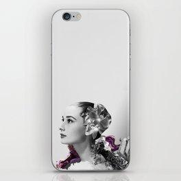 Quartz Armor & Orchids in Her Hair iPhone Skin