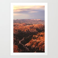 Inspiration Point Art Print