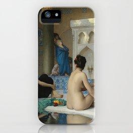 AFTER THE BATH - JEAN-LEON GEROME iPhone Case
