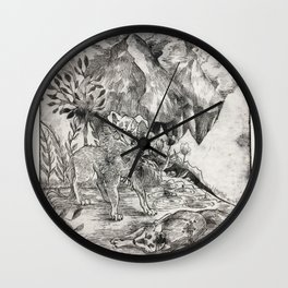 altered reality Wall Clock