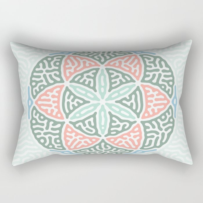 The Seed of Life Rectangular Pillow