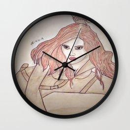 Scarlett Johansson by Double R Wall Clock