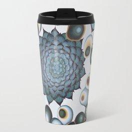 Ombre Succulents Travel Mug