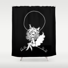▴ werewolf ▴ Shower Curtain