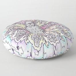 hawk mandala Floor Pillow