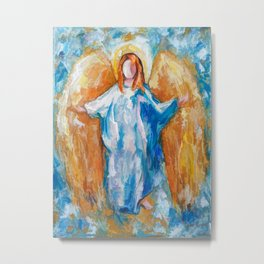 Angel Of Harmony 18x24 Metal Print