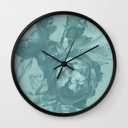 Aunt Green Wall Clock