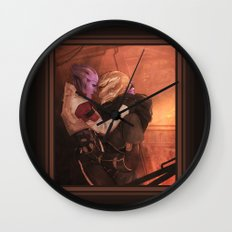 I like it when you're feisty Wall Clock