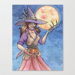 Scarecrow Queen Canvas Print
