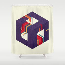Portal Study Number 2 Shower Curtain