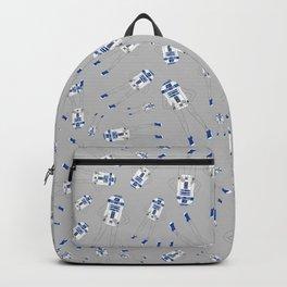Girl R2-D2 Pattern Backpack