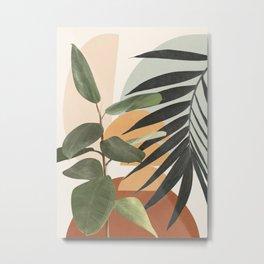 Sunset Flora 03 Metal Print