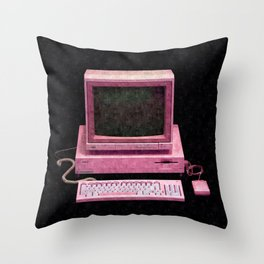 Retro Gaming Throw Pillow