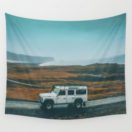 Defender on the Road Wall Tapestry