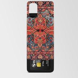 Kashan Poshti Central Persian Rug Print Android Card Case