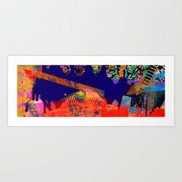 Snakes&Ladders_ver1_2018 Art Print